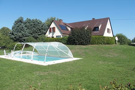 House, 5 bedrooms, + heated sw.pool - Widensolen - Haus