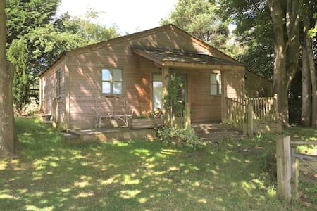 Spacious timber cabin close to Bath - Hinton Charterhouse - Cabana
