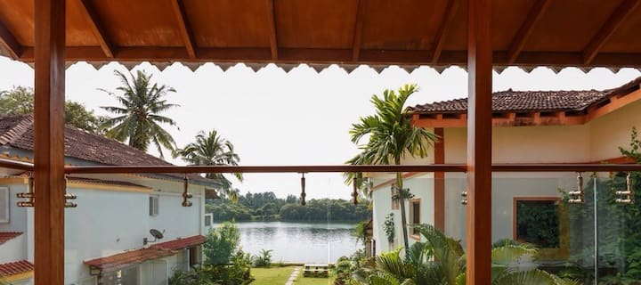 Charming River View Villa