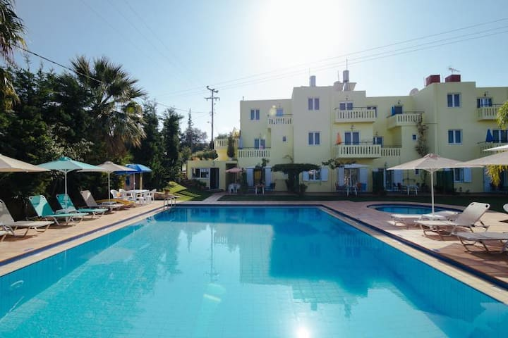 Apartments in Kalives,200m from sea