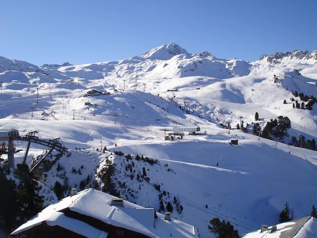 Arc 2000 Chalet Edelweis 46m2 50m des pistes - Bourg-Saint-Maurice - Byt