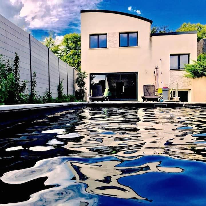 Suite dans Somptueuse Villa: Spa - Piscine - Patio
