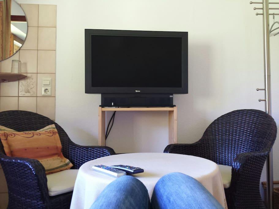 Eigener TV im Schlafzimmer