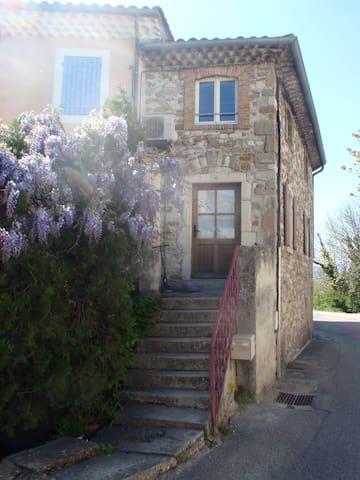 Maison de village meublée  en Drôme provençale - Charols - Rumah