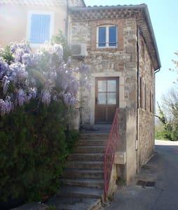 Maison de village meublée  en Drôme provençale