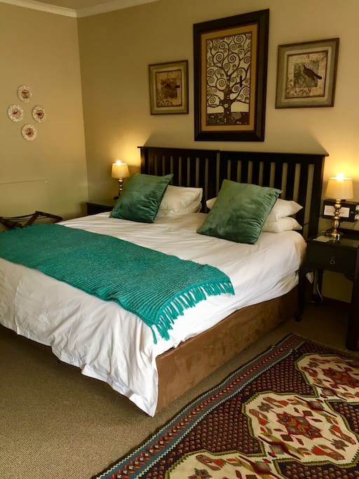 Room 5 - King size bed or two single beds available