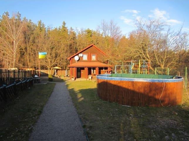 Дом-Сруб в Лесу
