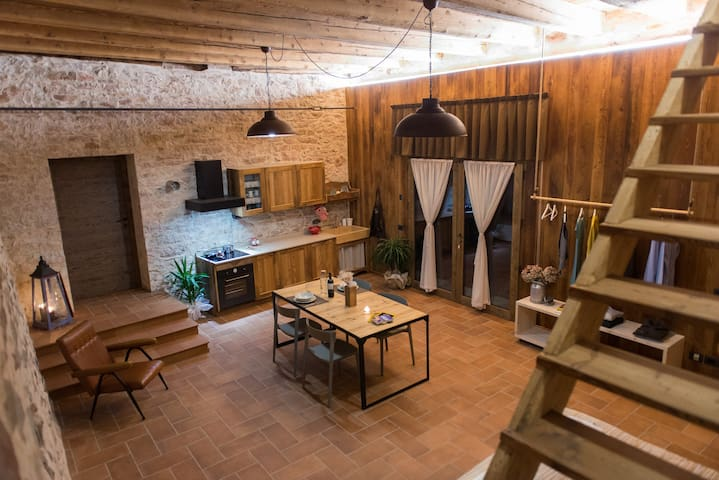 The house in the hayloft - Rovereto - Daire