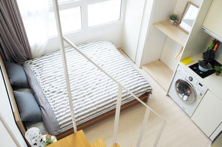 1.GU House in Seoul(Itaewon, Myuengdong, Hongdae) - Yongsan-gu - Daire