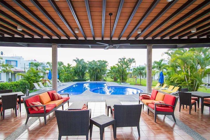 Casa Nuevo Vallarta a 5km de la Playa