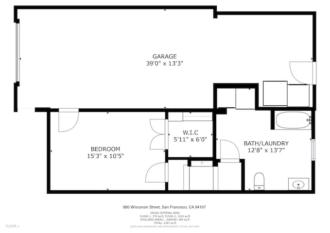 Potrero Hill Home with Private Deck and Grill