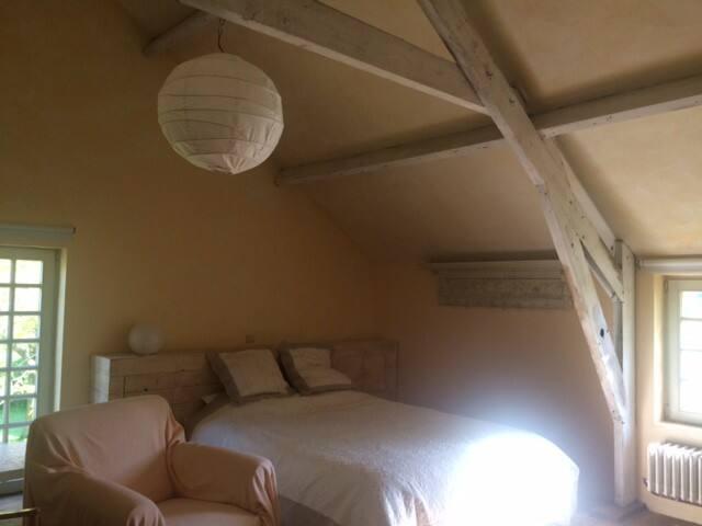 Ruime kamer in gezellig huis