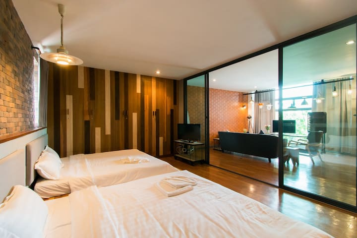 Family suite room @space59 - Tambon Na Muang - Pis