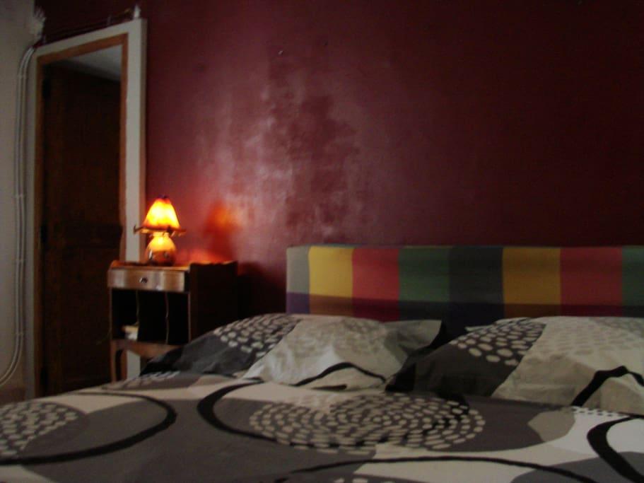chambre au calme avec penderie