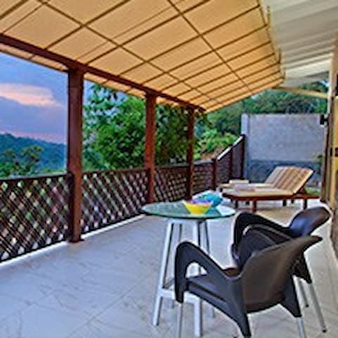 Wide,shady verandah