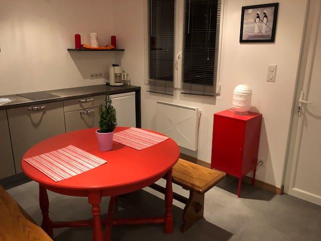 studio Niedernai prox route des vins et d'Obernai