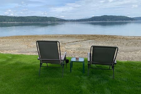 Woodside Waterfront View Home on Hood Canal