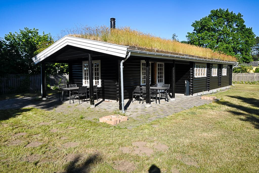 Kernehuset - on a great location next to the beach