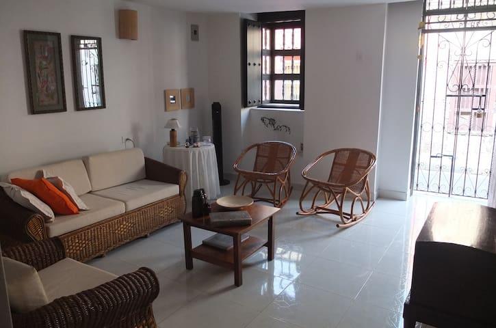 Cómodo cuarto con 2 camas sencillas - Cartagena - House