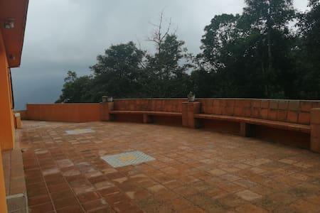 La casa de los abuelos en Cuautapehual