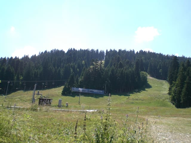 Borovets during the summer