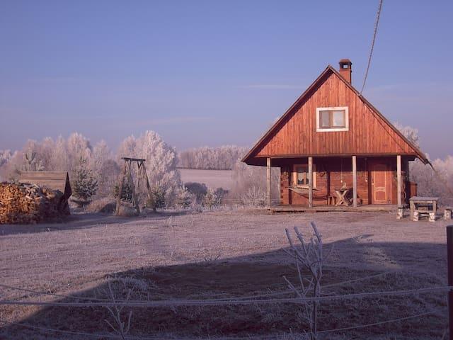 Франкорусский дом в большой природе - Svetlitsy