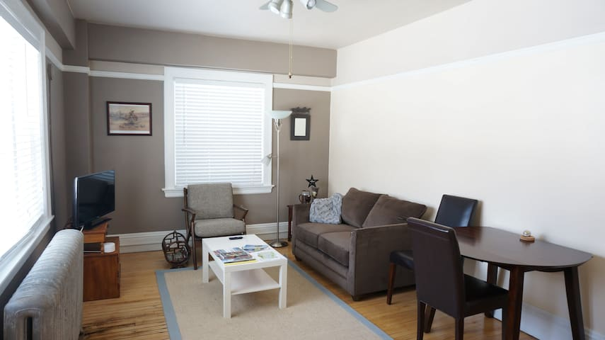 Clean relaxing spaces