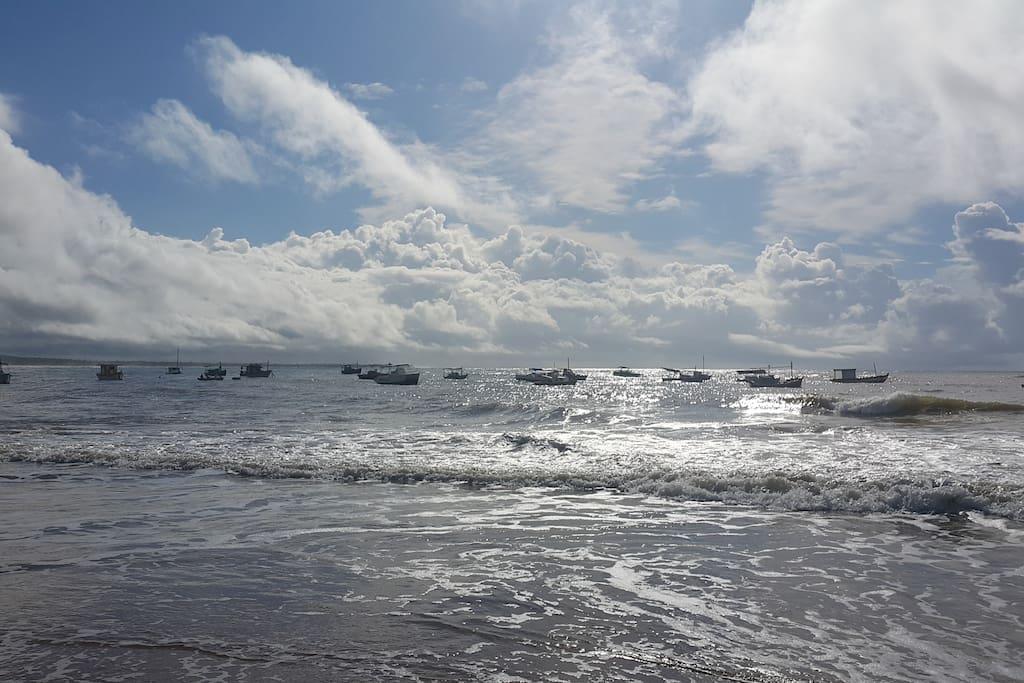 varias colonias de pescadores