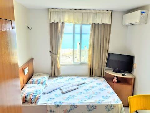 Apartamento Studio frente mar na Praia de Iracema