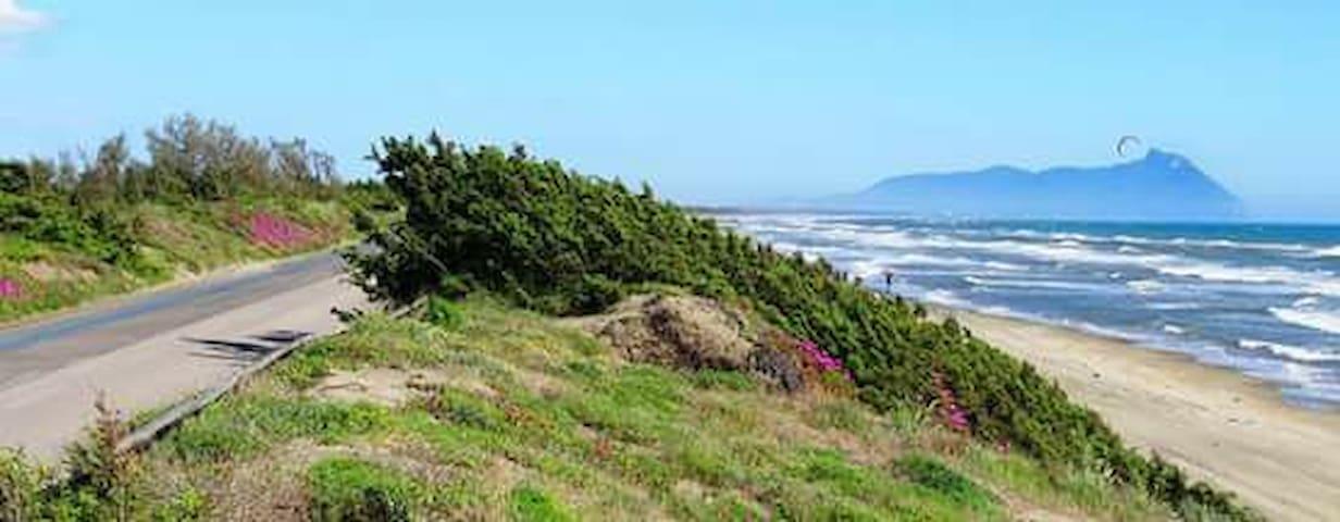 La costa di Sabaudia
