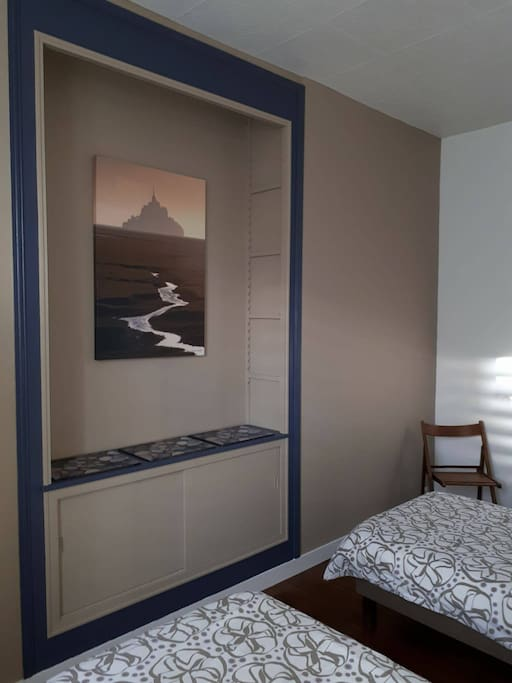 Chambre 1 (2 lits simples)