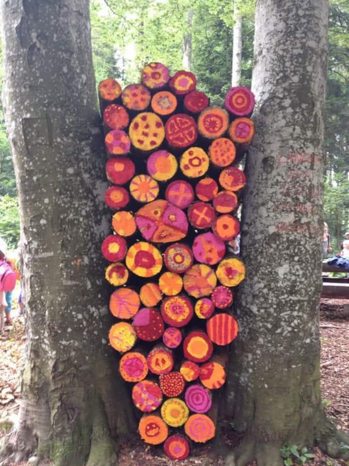 juego de troncos