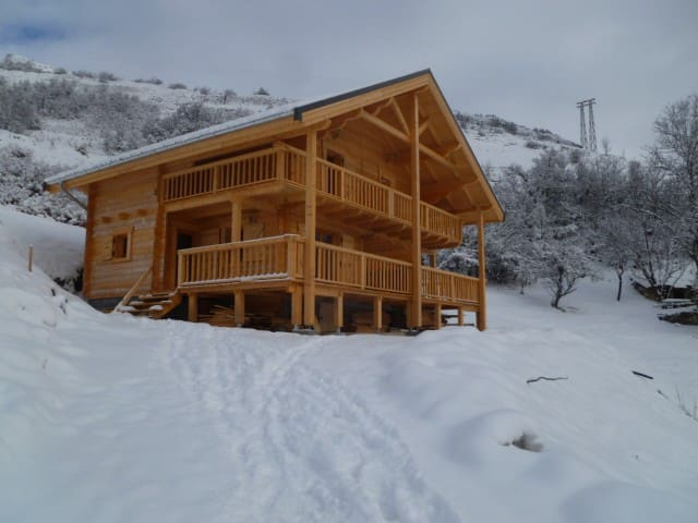 "CHALET  DES SOURCES   ""appartement L'EGLANTIER "" - Saint-Paul-sur-Ubaye"