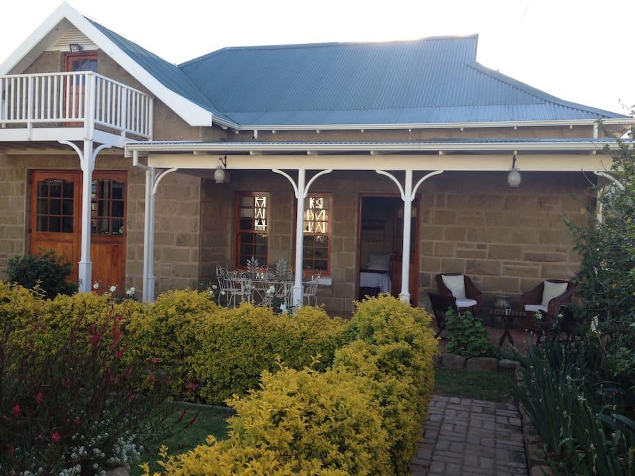 Garden Terrace Room Veranda