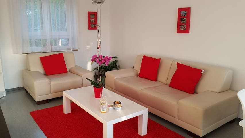 Lovely bright, few steps from lake! - Freiburg - Apartament