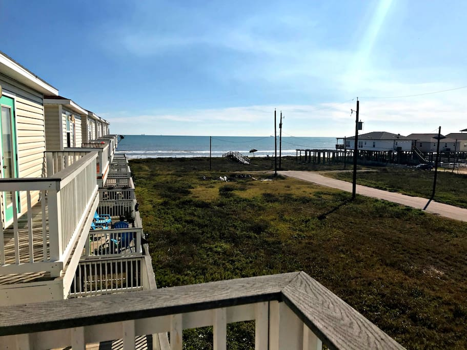 Direct water views and surf sounds from the deck!
