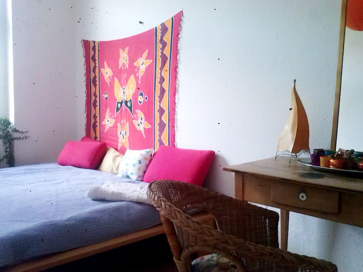 Zimmer im Szenestadtteil Plagwitz