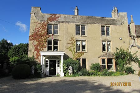 Listed Cotswold Manor 1 double rm. - Broughton Poggs