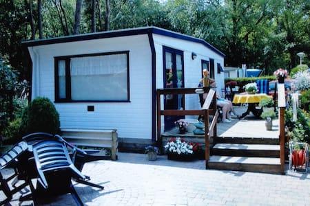 Veluwe, chalet, parkeren +2 fietsen - Renswoude - Cabin