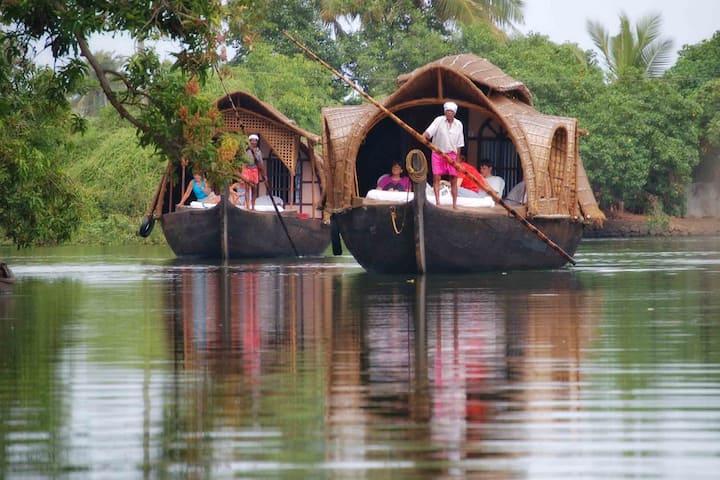 Kerala Houseboats in Alleppey