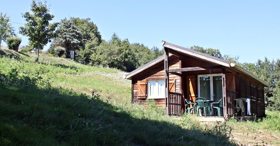 Chalet dans un camping, Albi - Tarn - Saint-Cirgue - Alpstuga