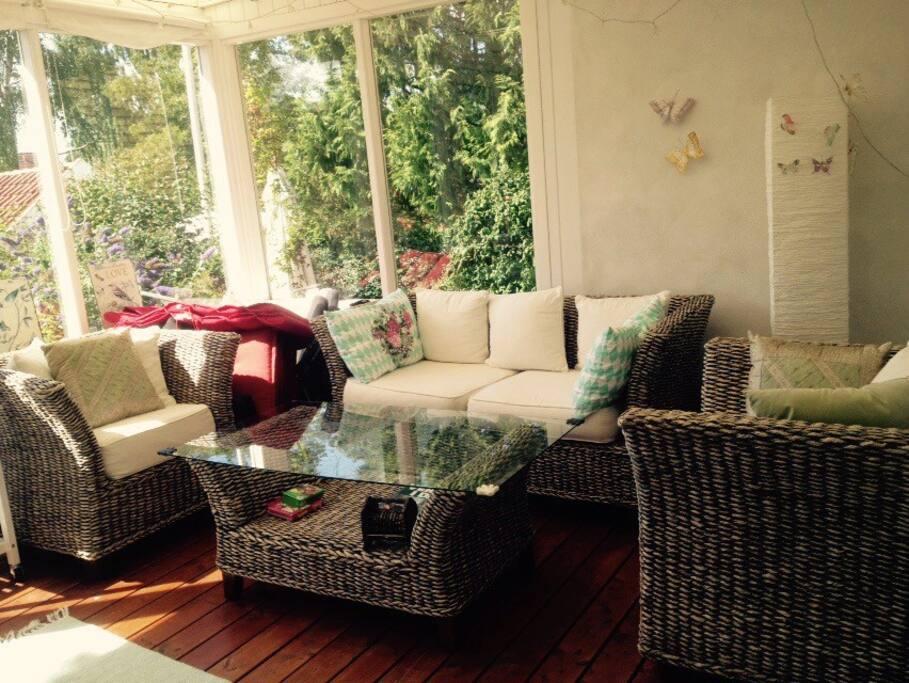 The wonderful garden room