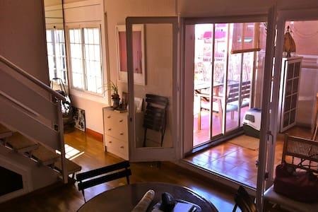 Penthouse duplex & terrasse Gracia - 巴賽隆納