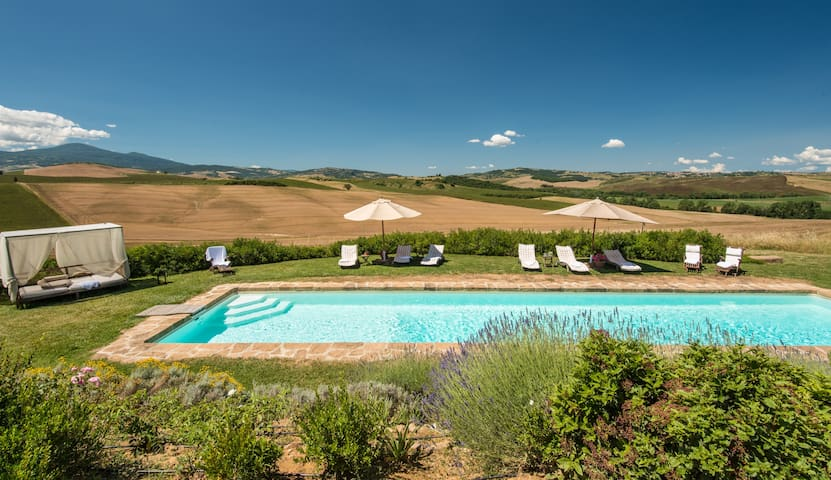 Exclusive Villa with Heated pool and amazing view - Pienza - Villa