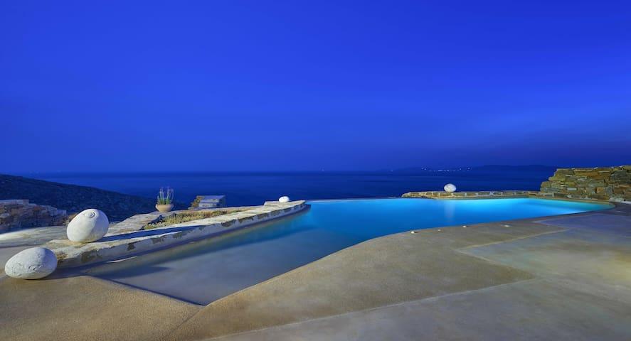Villa Satya Luxury Villa in Tinos - Kionia - Villa