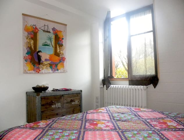 Appartement cosy en rez de jardin d'une maison - L'Argentière-la-Bessée - Flat