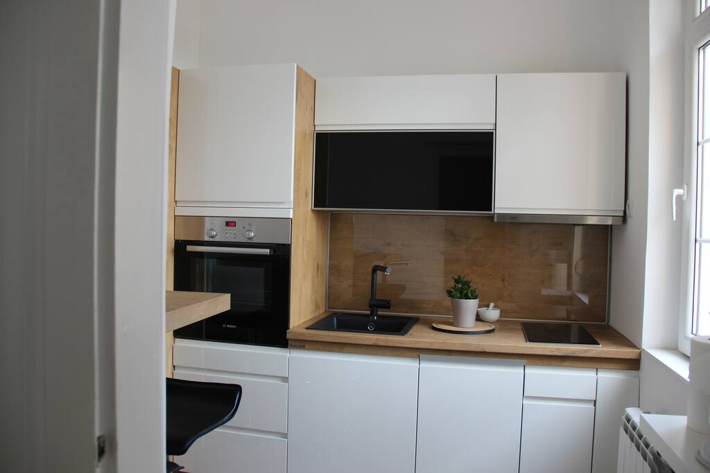 fully equiped new kitchen