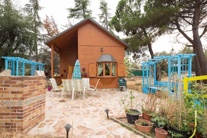Lovely Wood house near El Escorial