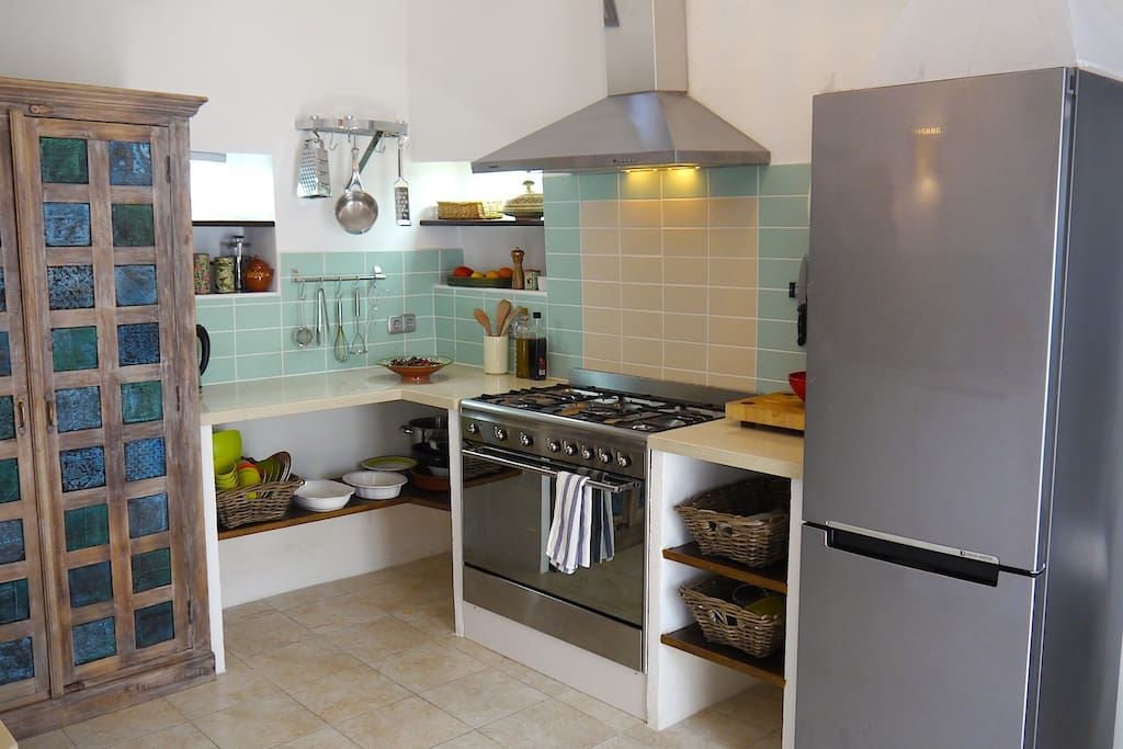 KITCHEN: stylish and well-equipped