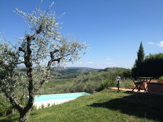 Cosy rooms, splendid Chianti views - Montespertoli